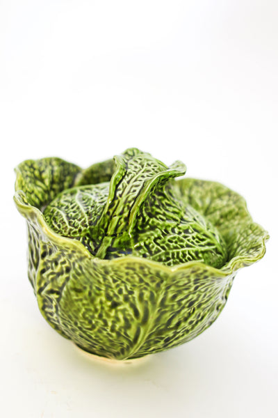Vintage Savoy Cabbage Serving Bowl