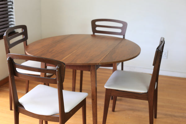 Round Drop Leaf Table Unita Planned Furniture
