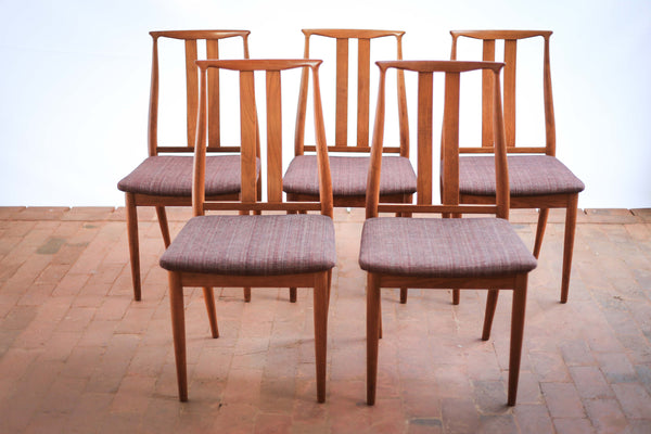 Five 'Danish Overseas Furniture' Dining Chairs