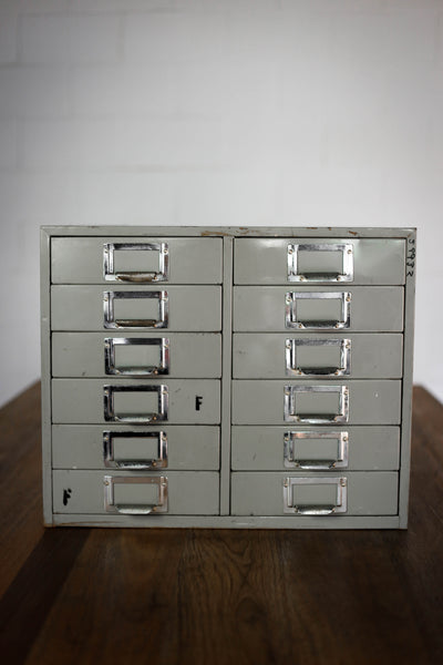 Steel Cabinet with Eight Drawers