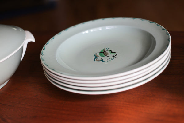1950's Poole Dinner Service from England