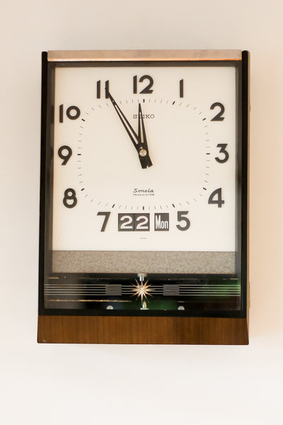 1960's Seiko Wall Clock