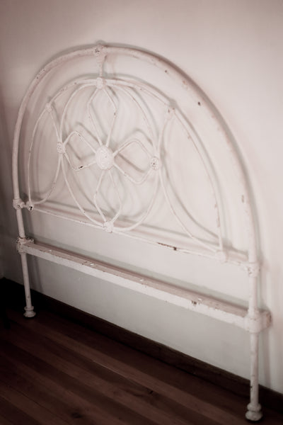 Antique Cast Iron Double Bed Head