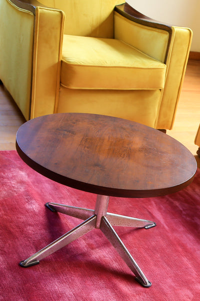 Round Retro Side Table