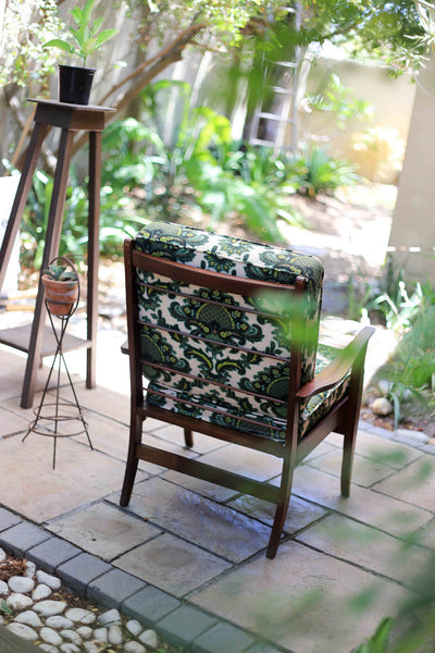 An Upholstered Retro Chair