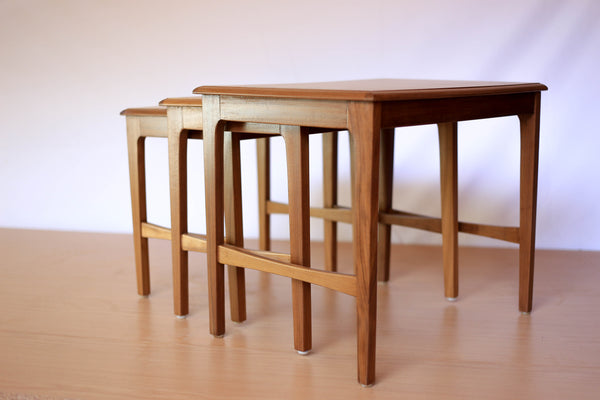 Vintage Nest of Tables by Remploy, UK