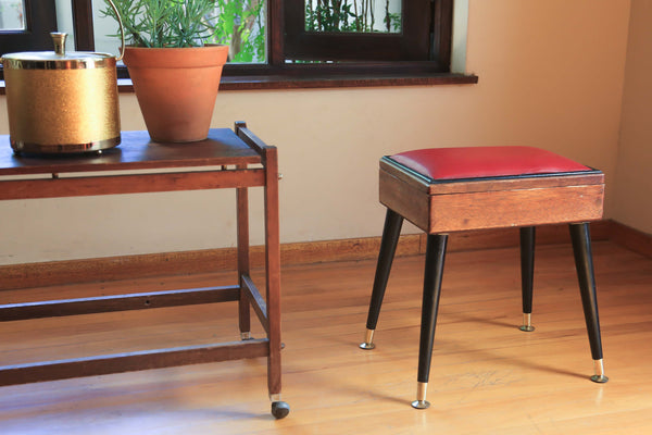 Retro Piano Stool