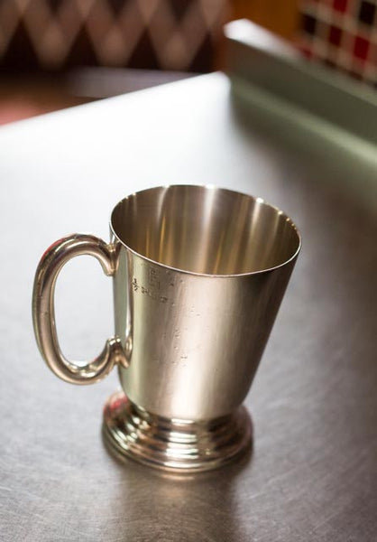 Silver Plated Half Pint Beer Mug