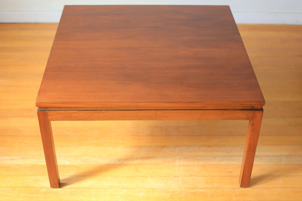 Mid-century Square Coffee Table