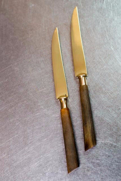 Stahl-Bronce Fruit Knives