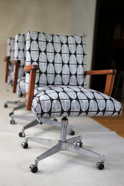 Mid Century Nordic Office Chairs