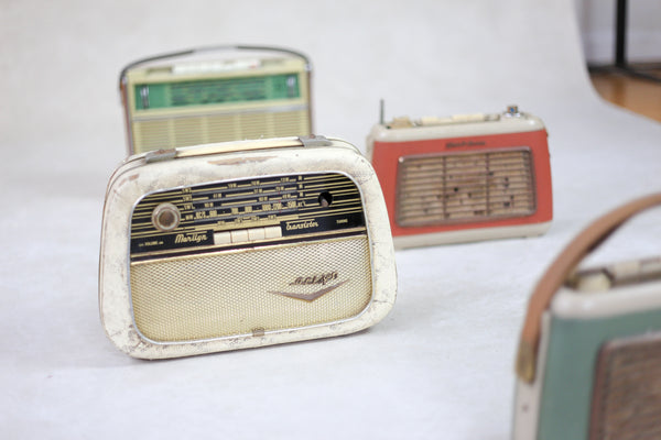 Vintage Transistor Radios for Display