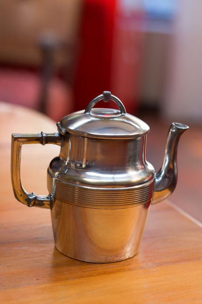 Two Cup Silver Plated Tea Pot c. 1910