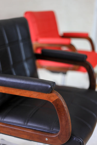 Scandinavian Style Mid Century Office Chairs