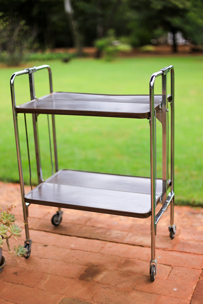 Collapsible Retro Steel Trolley