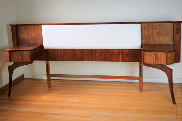 Mid Century Double Bed Headboard