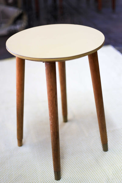 Side Table with Melamine Top