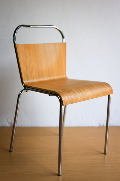 Set of Six Vintage Stacking Chairs