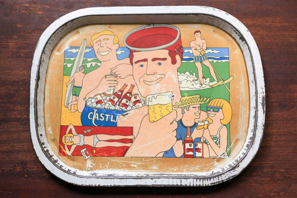 Vintage Fun Beer Tray