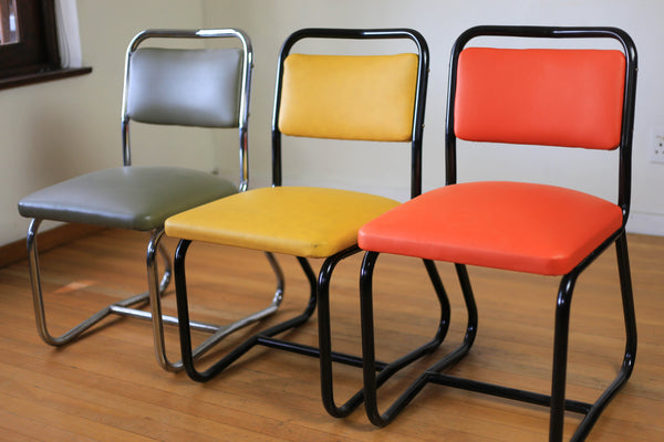 Refurbished 1970's Waiting Chairs