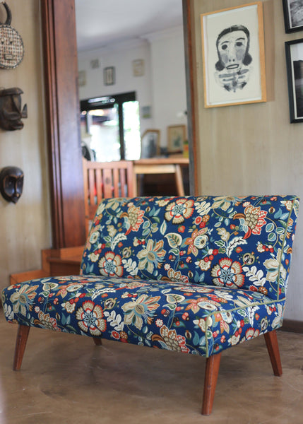 Mid-century Settee and Armchair