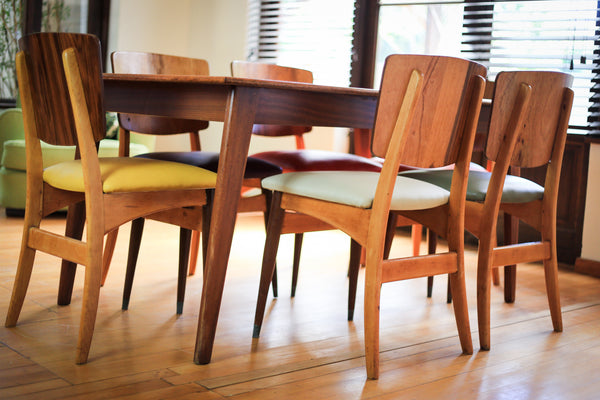Set of Six Bakker & Steyger Dining Chairs