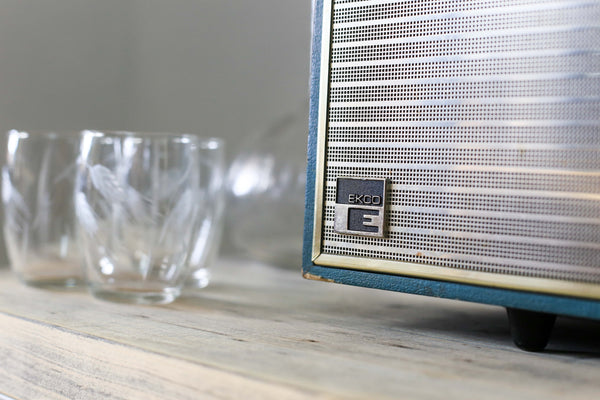 Late Sixties British Ekco Transistor Radio