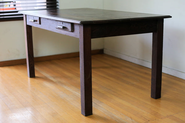 Vintage Partridge Wood Table