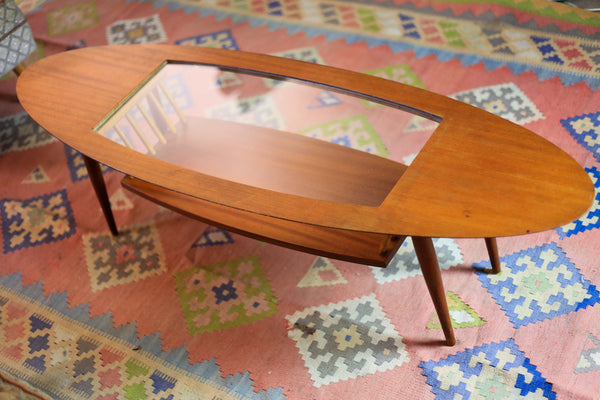Atomic Surfboard Coffee Table