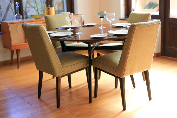 Four 1960's G Plan Dining Chairs