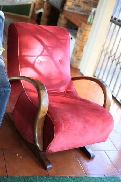 Red Banana Chair