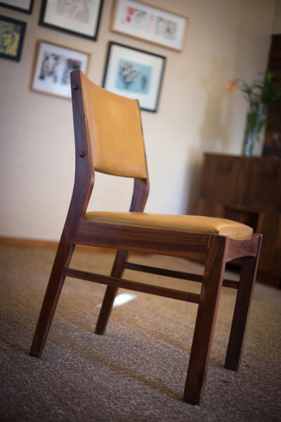 Six Rhodesian Teak Chairs