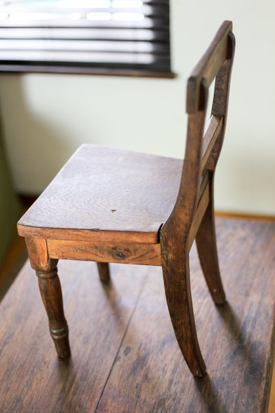 Vintage Child's Table and Chair