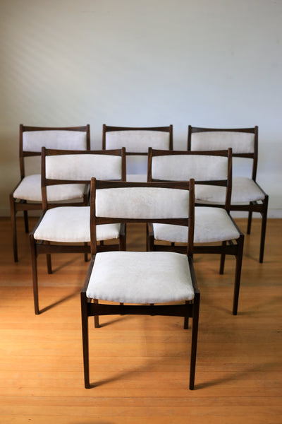 1960's Dining Chairs - table sold