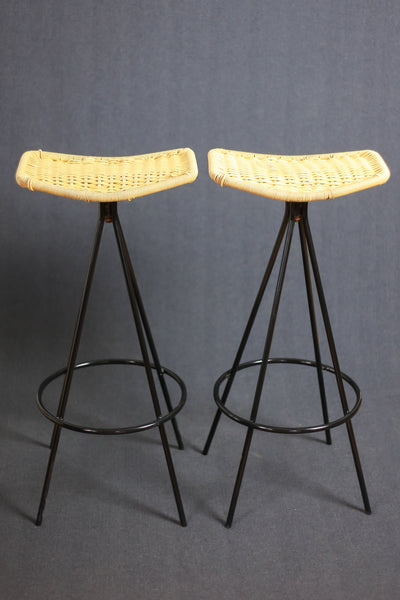 A Pair of Bar Chairs