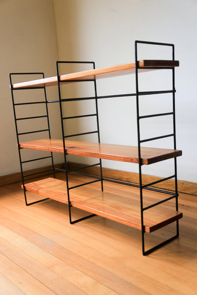 Three Tier Retro Shelf
