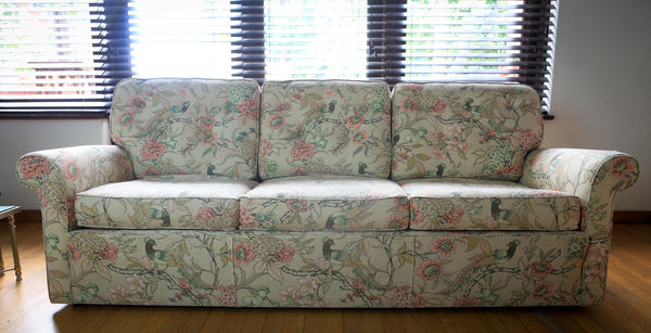 Mid Century Upholstered Couch