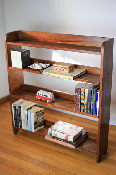 Modern Kiaat Shelf