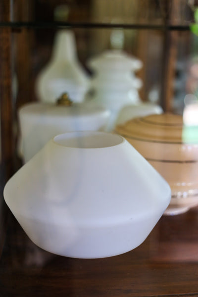 Selection of Vintage Glass Lamp Shades