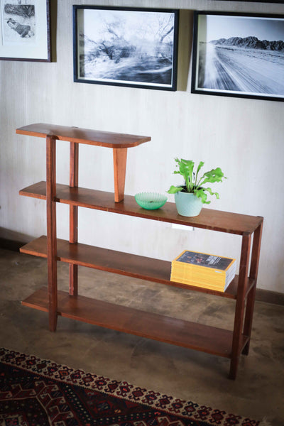 A Four Tier Retro Shelf