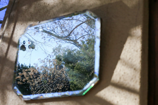 Antique Bevelled Mirror