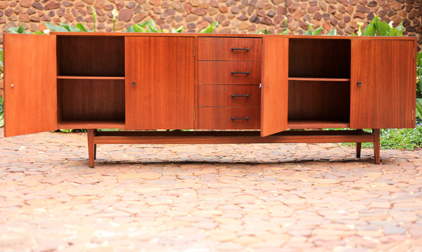 Mid Century Sideboard and Silverware