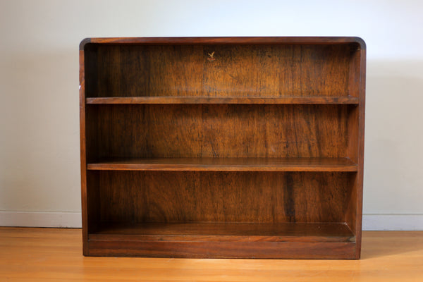 Vintage 'Merlin Furniture' Solid Wood Shelf