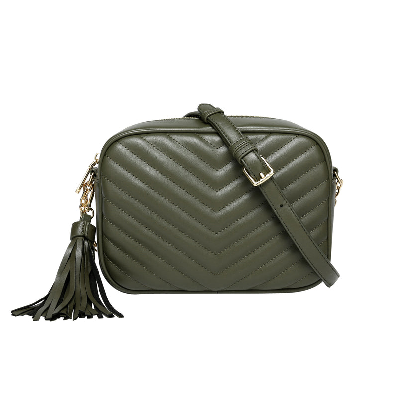 olive-quilted
