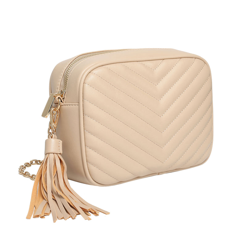 beige-quilted