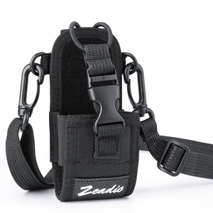 Zeadio Multi-Function Pouch Case Holder for GPS Phone Two Way Radio (ZNC-D, Pack of 1)