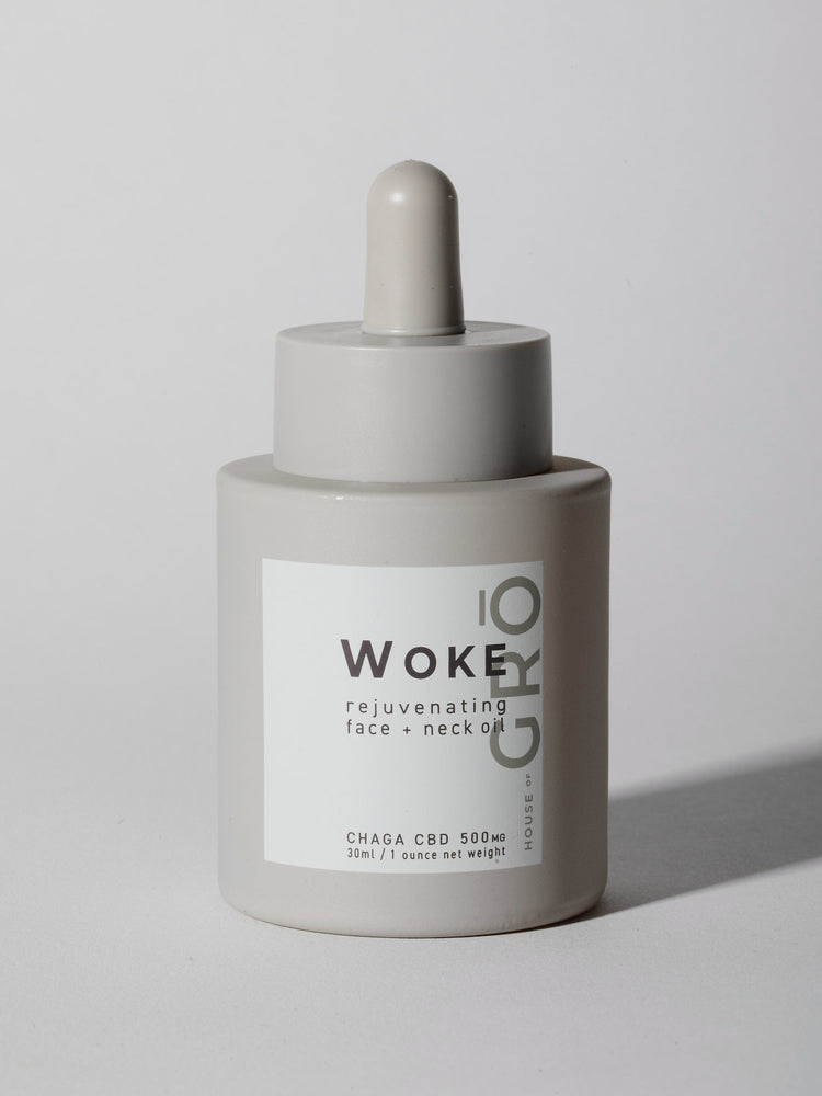 WOKE Organic CBD Face Oil by HOUSE OF GRŌ