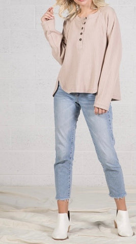 Bailey Top - Taupe