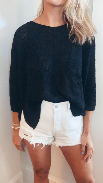 Meg Sweater - Black