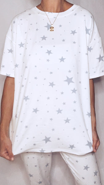 Casey Star Top - Blue